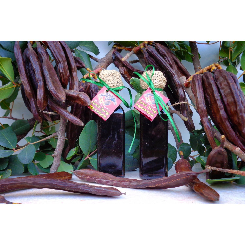 Сироп из плодов рожкового дерева (кэроб)