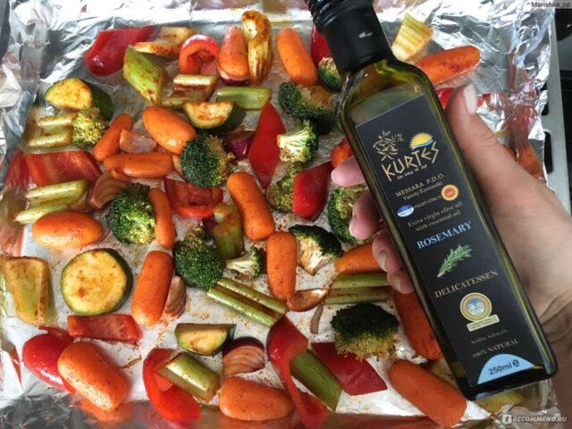 Рецепт с оливковым маслом KURTES с розмарином от нашей подписчицы