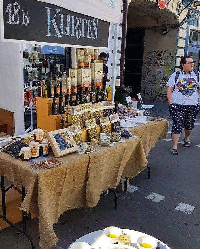Дегустация оливкового масла KURTES