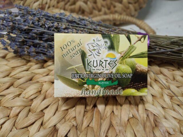 Оливковое мыло KURTES